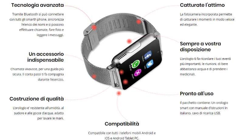 xpower watch funzionalità