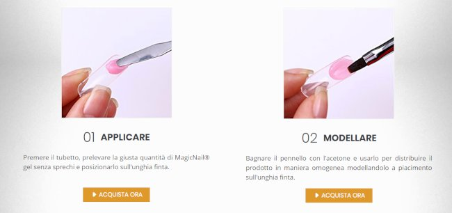 magic nail acquisto