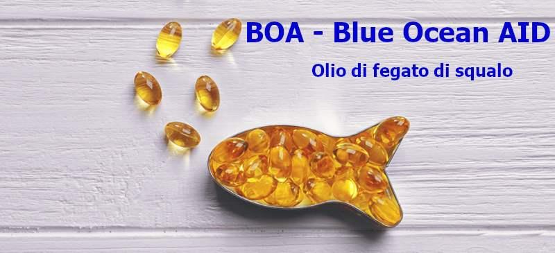 olio di fegato di squalo