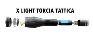 recensione x light torcia tattica