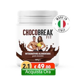 prezzo chocobreak fit