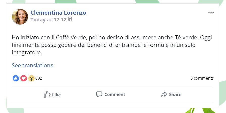 green coffe e green tea testimonianze e opinioni